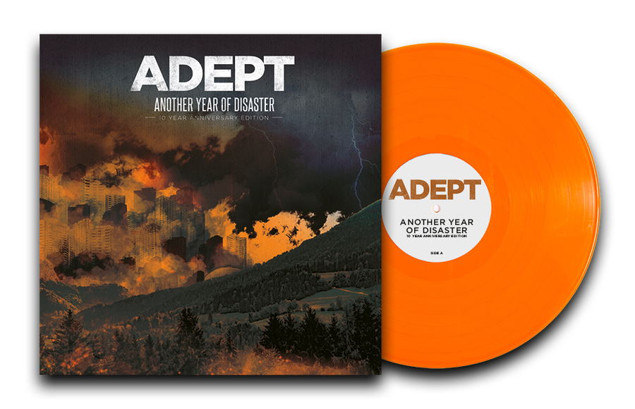 Image of AYOD10 Color Vinyl (Orange) Limited Edition