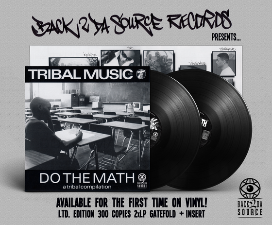 Image of Do The Math (A Tribal Compilation) 2xLP Gatefold edition (PRE ORDER NOW!)