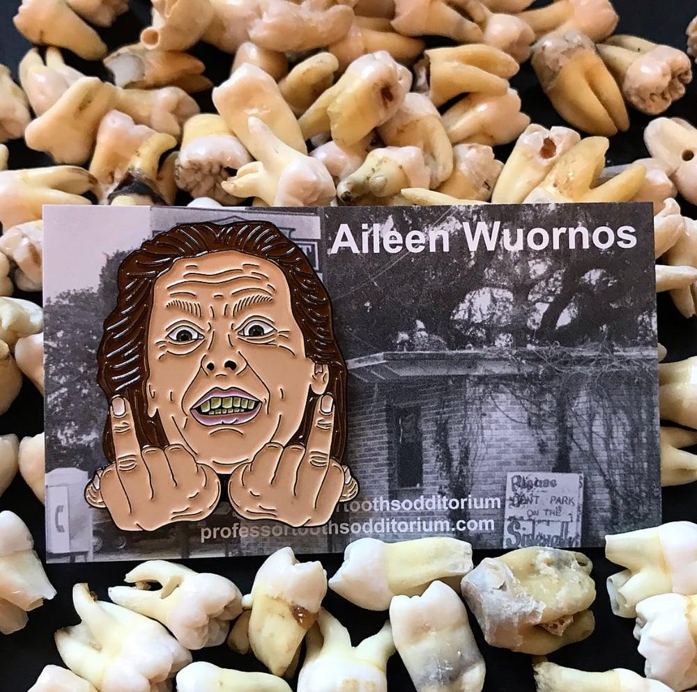 Image of Serial Killer Aileen Wuornos Soft Enamel Pin