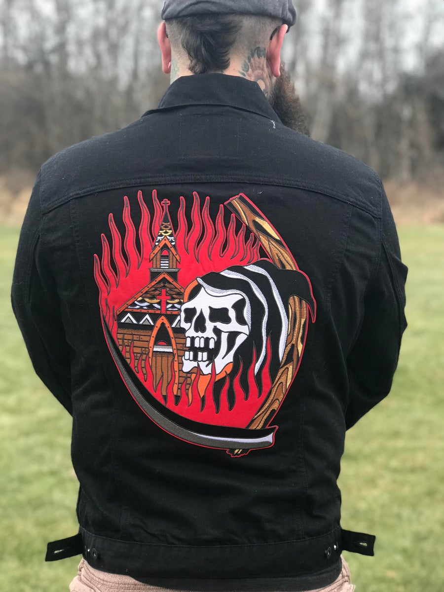 Image of Church Fire Backpatch!