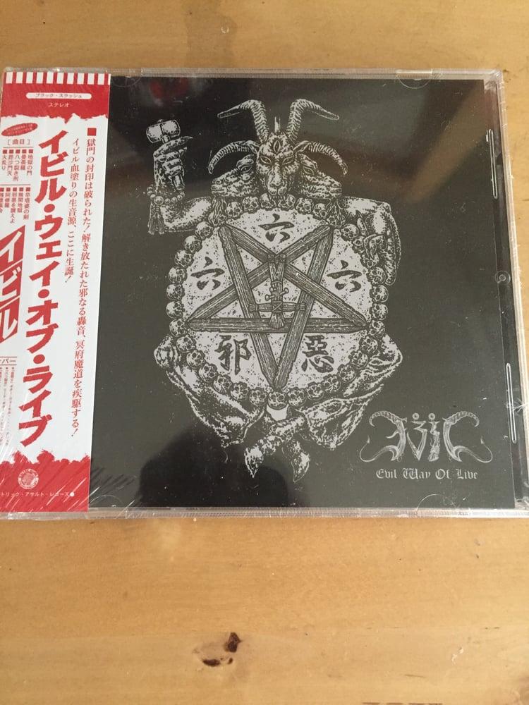 Image of Evil - Evil Way of Live CD