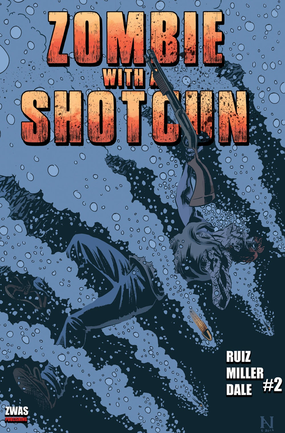 Image of Zombie with a Shotgun comic Issue #2