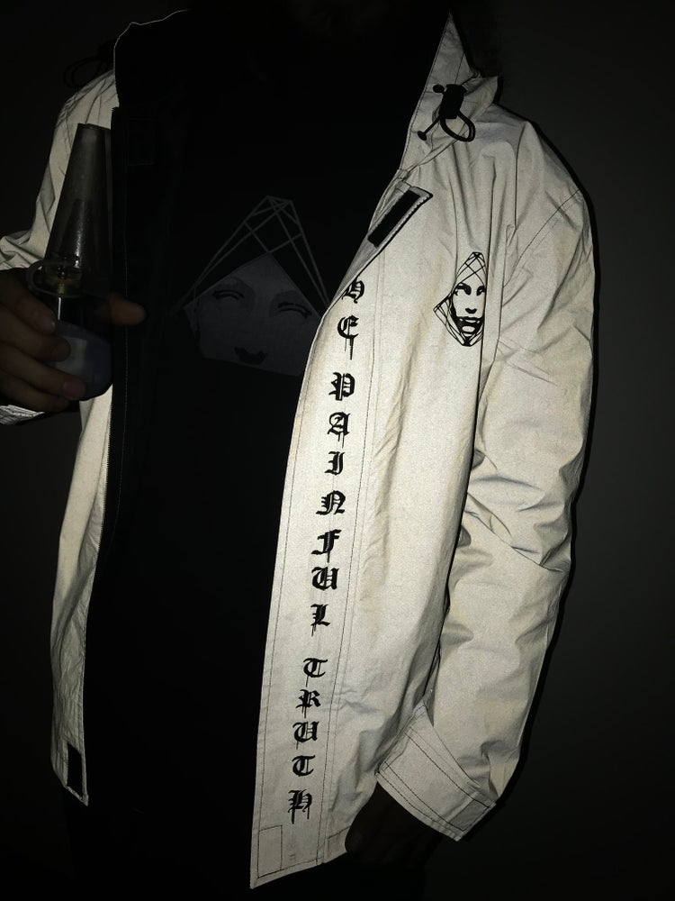 Image of TEACH PEACE 3M JACKET