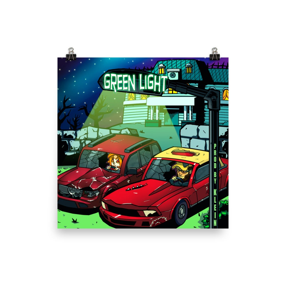 Image of Green Light Poster *Exclusive Item*