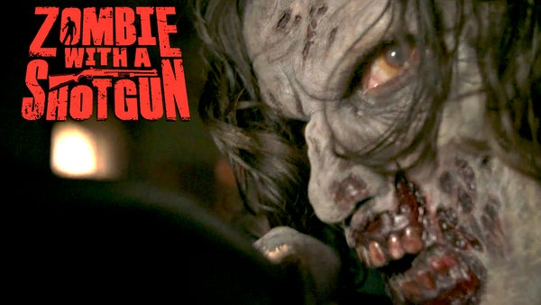 Image of Zombie with a Shotgun Movie Poster from the feature film ~ Signed and printed on 17x22 (Zombified)
