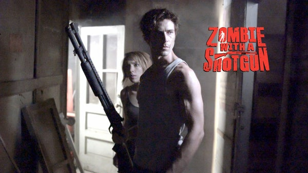 Image of Zombie with a Shotgun Movie Poster from the feature film ~ Signed and printed on 17x22 paper (Shot)