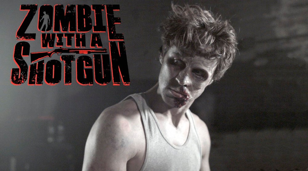 Image of Zombie with a Shotgun Movie Poster from the feature film ~Signed and printed on 17x22 (The Dream)
