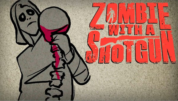 Image of Zombie with a Shotgun Movie Poster from the feature film ~ Signed and printed on 17x22 Photo (Skull)