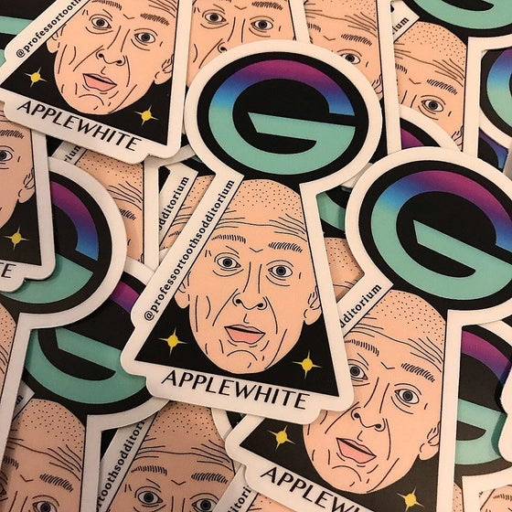 Image of Marshall Applewhite Vinyl Sticker