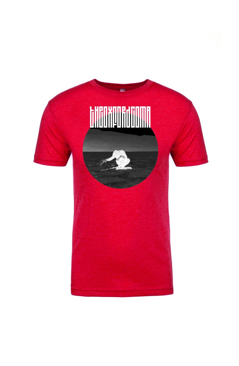 Image of Everything Out of Tune Red T-shirt