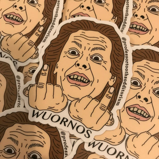 Image of Aileen Wuornos Vinyl Sticker