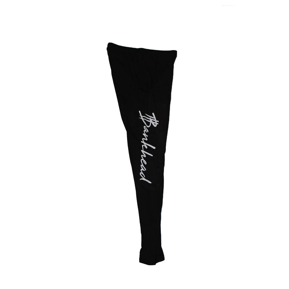 Image of Bankhead signature black leggings