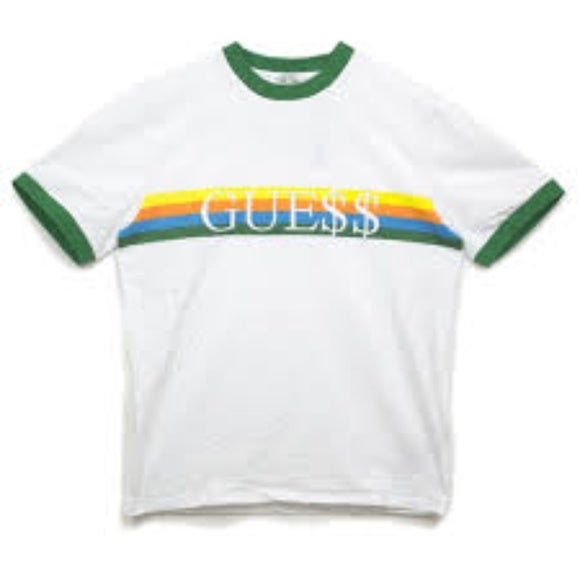 Image of ASAP Rocky x Guess Cotton Ringer (available in 3 colors)