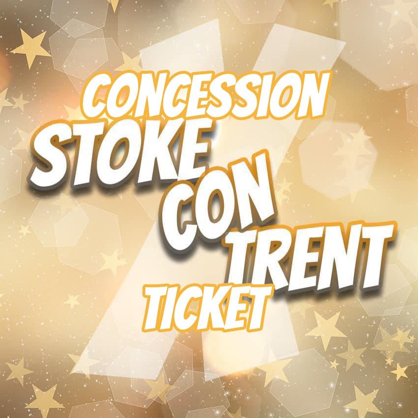 Image of Concession Ticket for Stoke Con Trent X