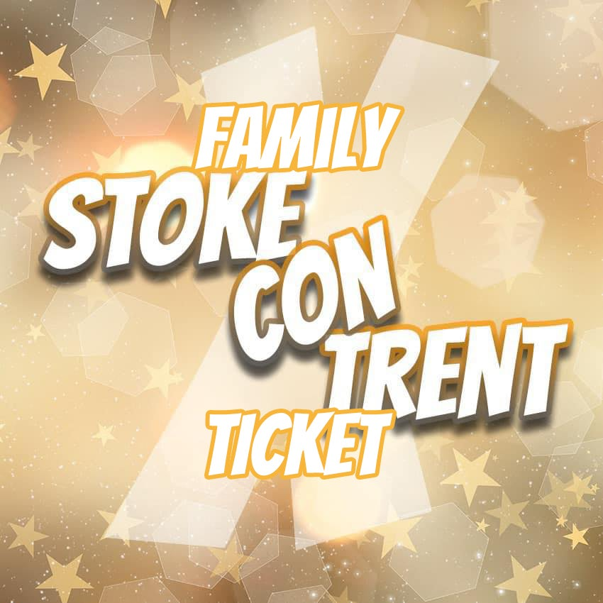 Image of Family Ticket for Stoke Con Trent X