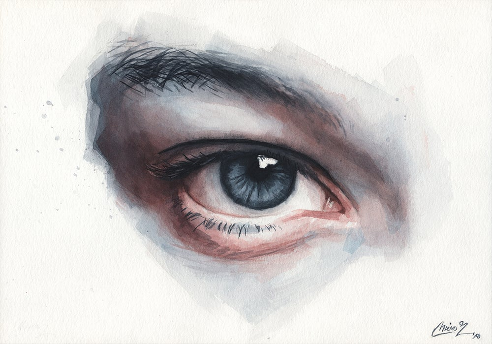 Image of Watercolor Study #10