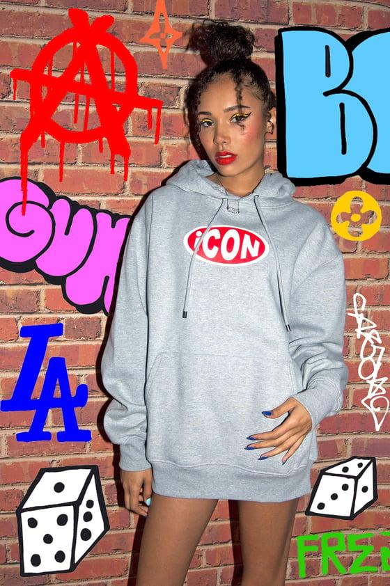 Image of icon unisex hoodie