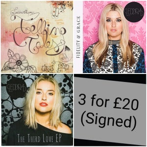 Image of 3 SIGNED CD's for £20!