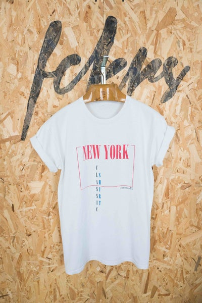Image of Classic Shirt New York By FCKRS® (Impression dos)