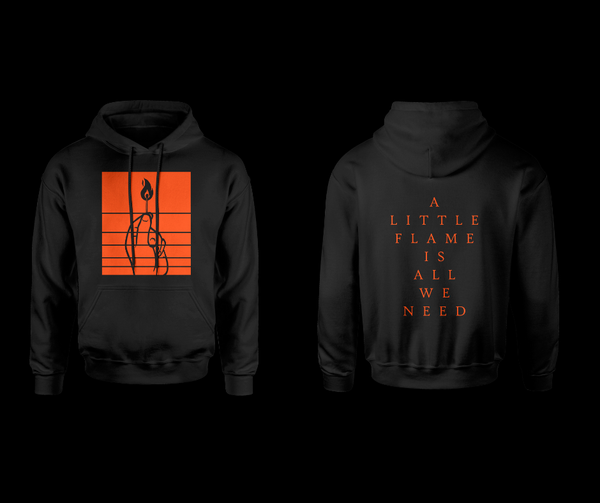 Image of BURN UP FLAME HOODIE