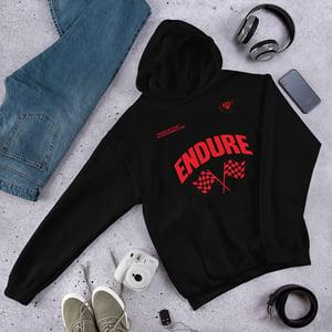 Image of Black Endure Hoodie (Endure Collection)