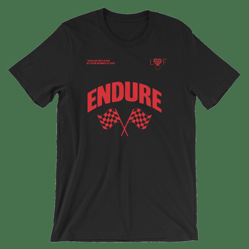 Image of Black T shirt (Endure Collection)