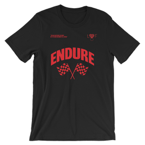 Image of Black T shirt (Endure Collection)