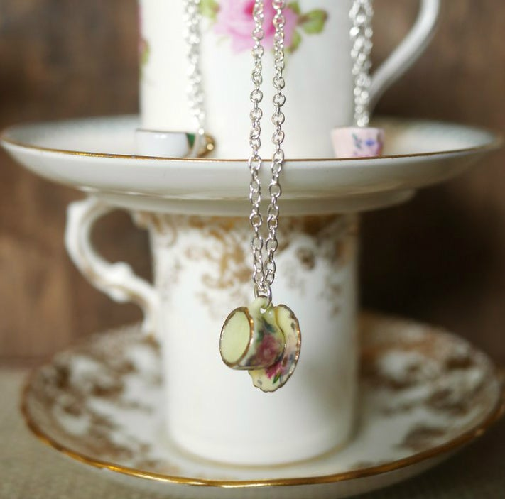 Image of Miniature Teacup Pendant