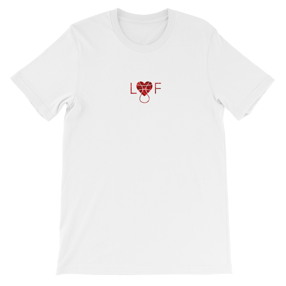 "Image of ""LiF In Blood"" T-shirt (white)"