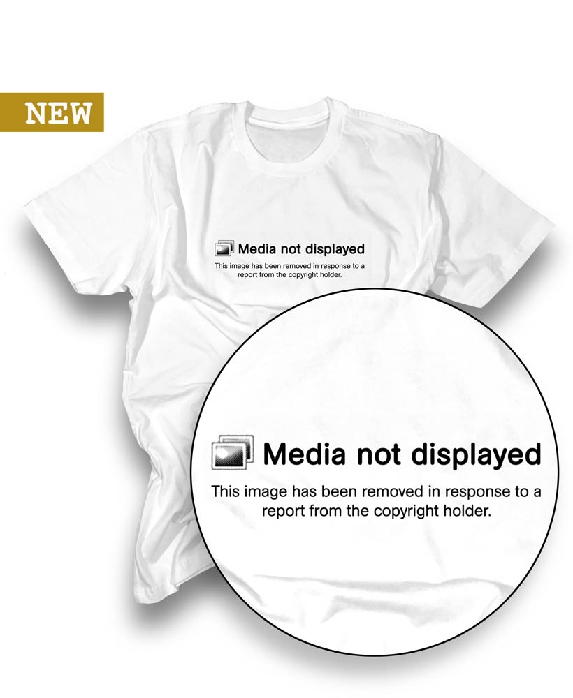 Image of MEDIA NOT DISPLAYED TEE