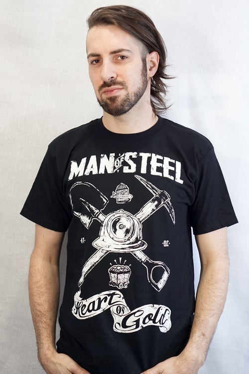 Image of Man Of Steel / T-shirt Homme
