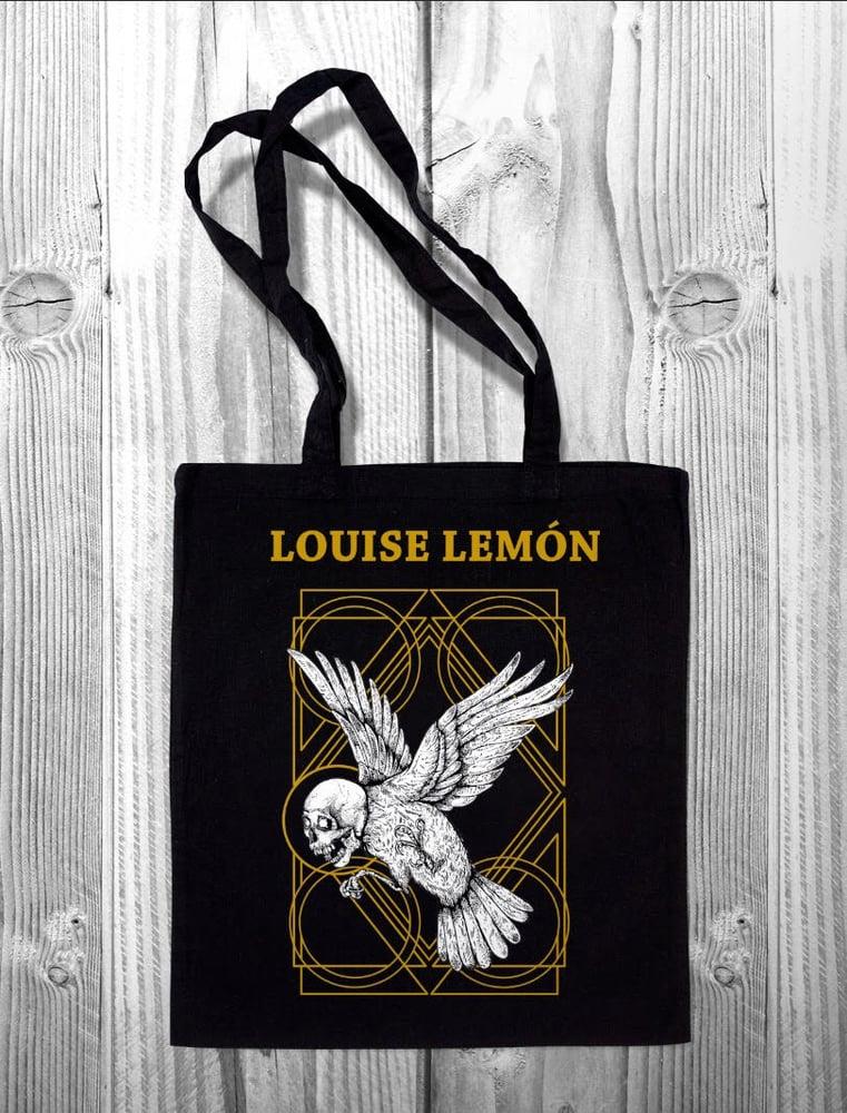 Image of Louise Lemón Tote Bag Black