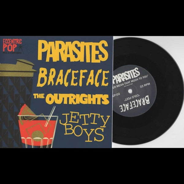 "Image of 7"": Parasites / Jetty Boys / The Outrights / BraceFace"