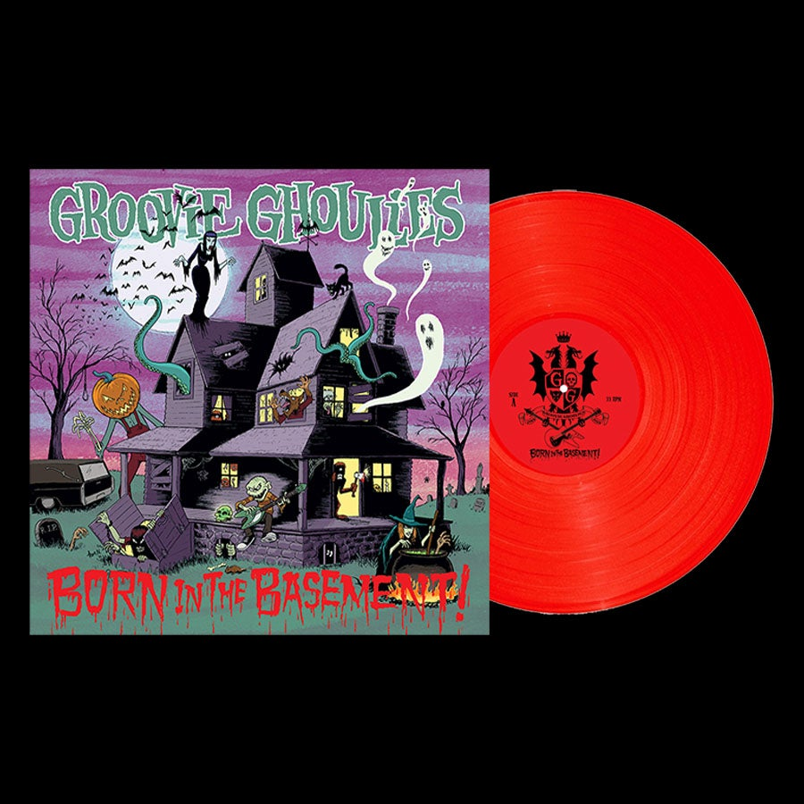 "Image of LP/CD: Groovie Ghoulies ""Born In the Basement"""