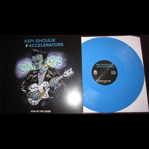 "Image of LP/CD: Kepi Ghoulie / Accelerators ""Fun In The Dark"""