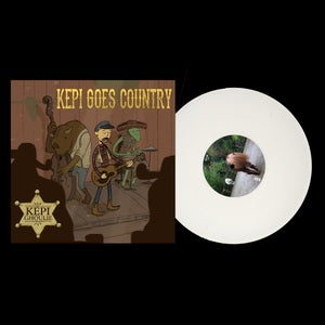 "Image of LP/CD: Kepi Ghoulie ""Kepi Goes Country"""