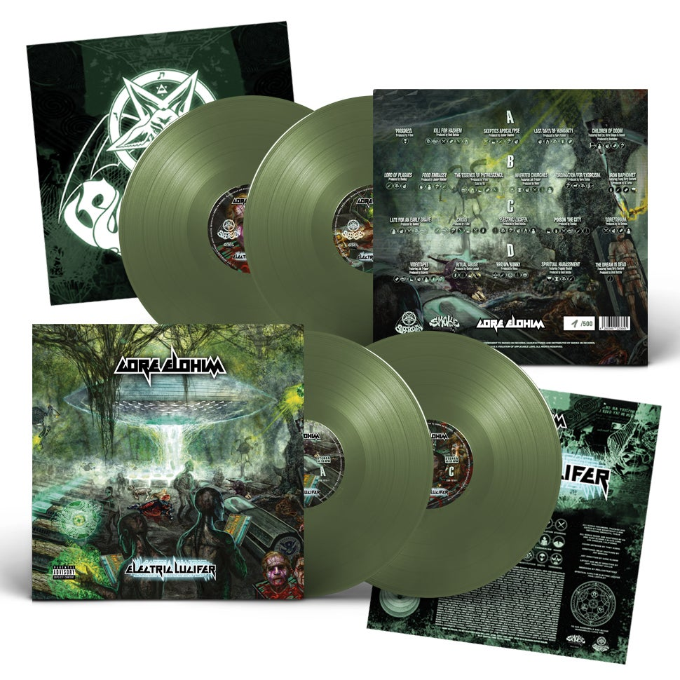 Image of Gore Elohim - Electric Lucifer (The Green Vinyl Cult Edition)