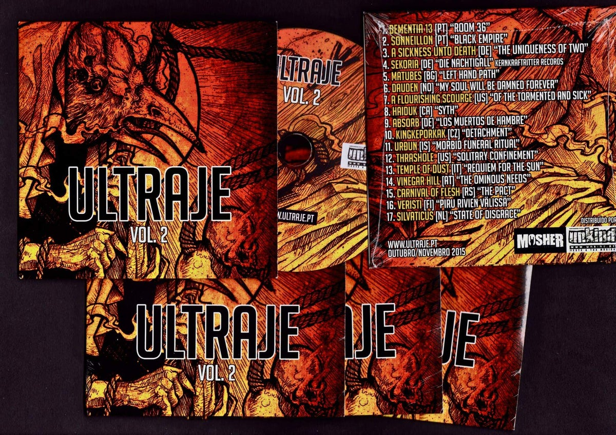 Image of ULTRAJE COMPILATION VOL. 2