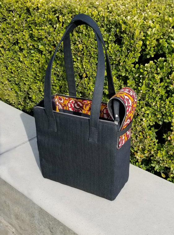 Image of Cubella *India* Black Denim Bag