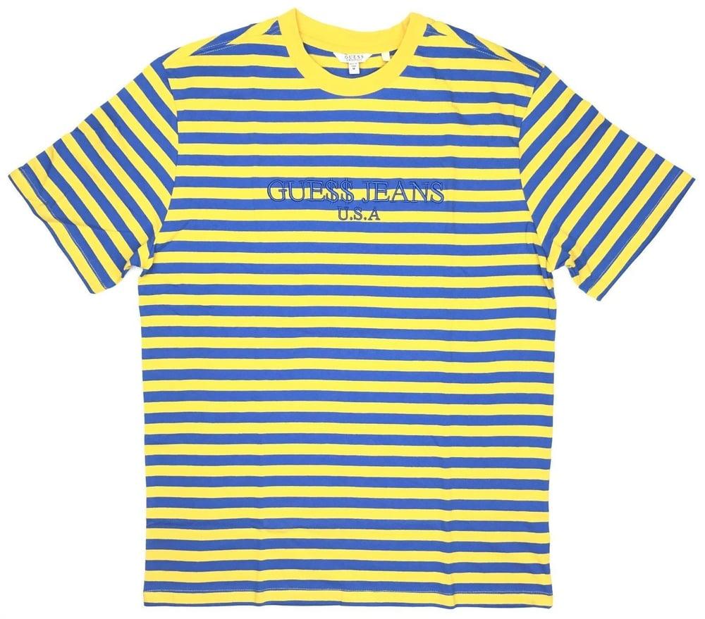 Image of Guess Original x A$AP Rocky David Reactive Short Sleeve- Yellow