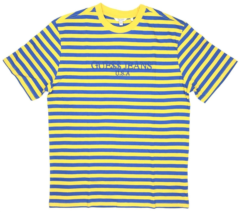64c215f7989c Image of Guess Original x A$AP Rocky David Reactive Short Sleeve- Yellow
