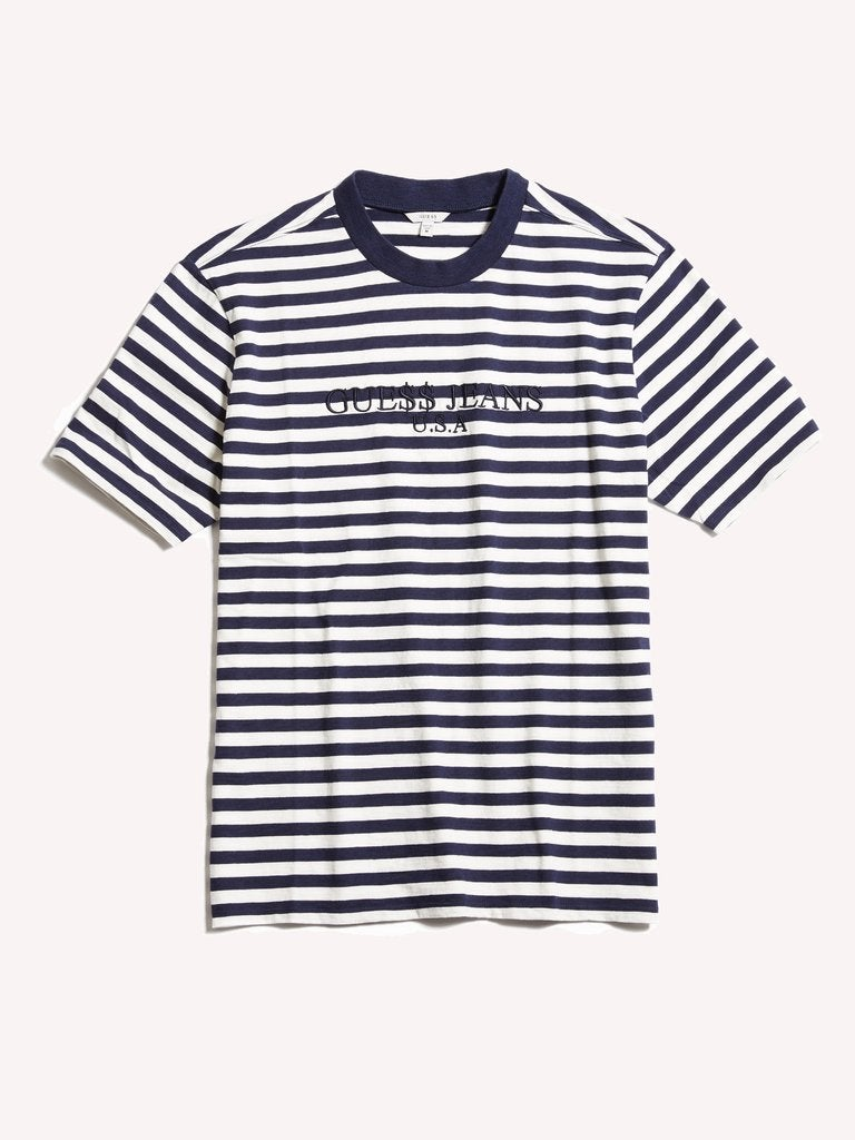 Image of Guess Original x A$AP Rocky David Reactive Short Sleeve- choose colors Size = XL