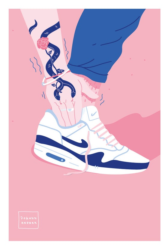 Image of The Sneaker and the Snake