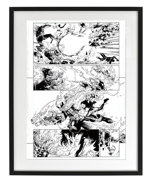 Image of CIVIL WAR II - Free Comic Book Day Page 06
