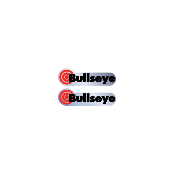 Image of Bullseye Chrome decals