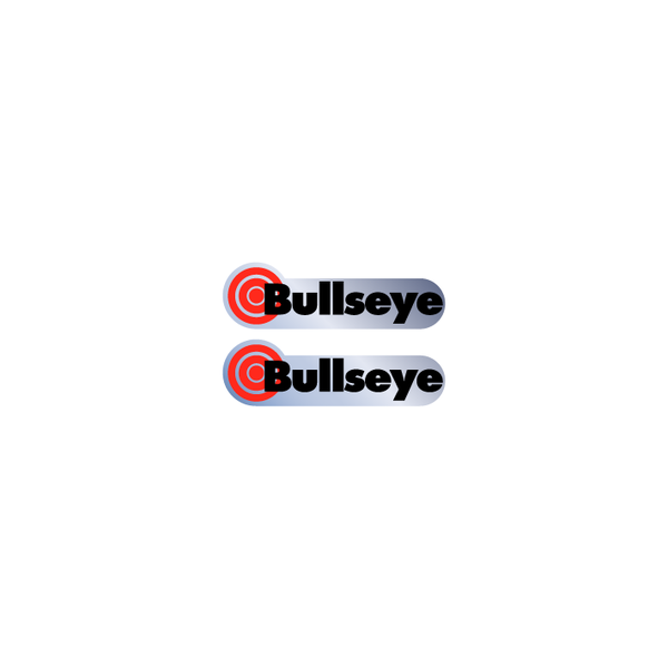 Image of Bullseye Chrome decals