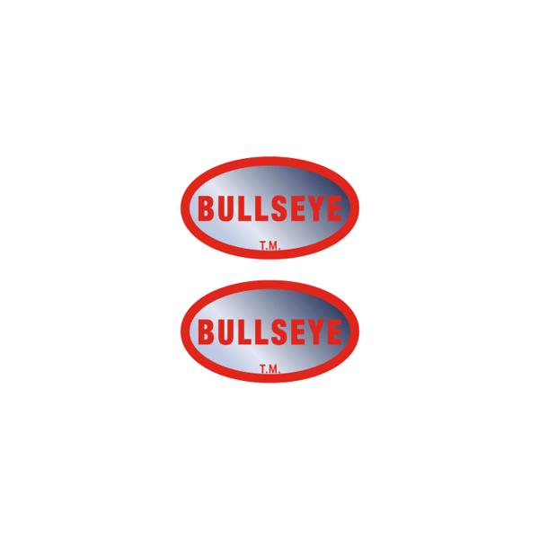 Image of Bullseye Hub decals