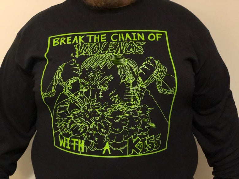 Image of Break The Chain of Violence Long Sleeve