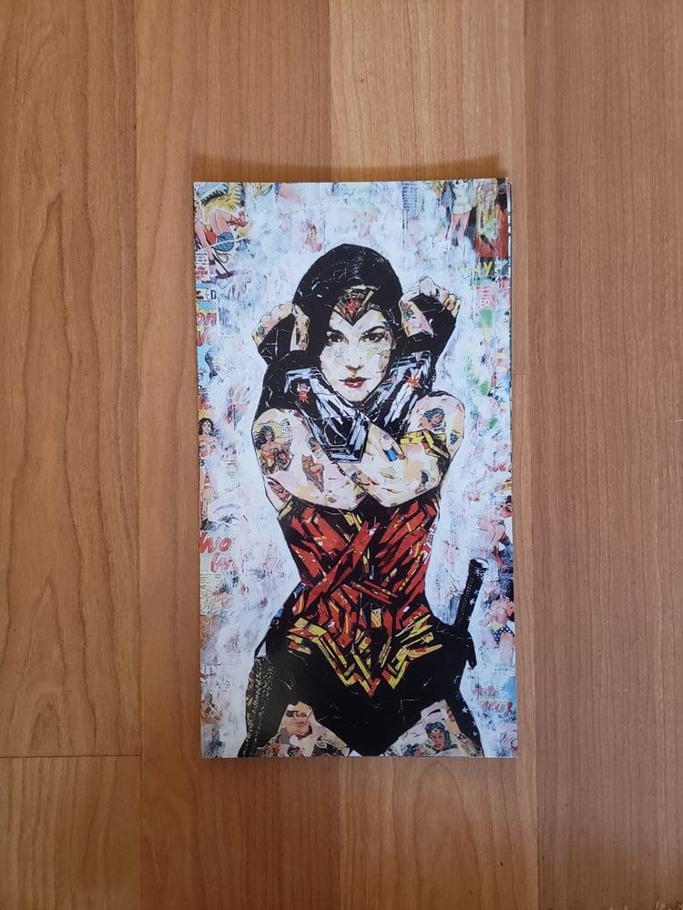 Image of Wonder Woman (Option 2) Postcard