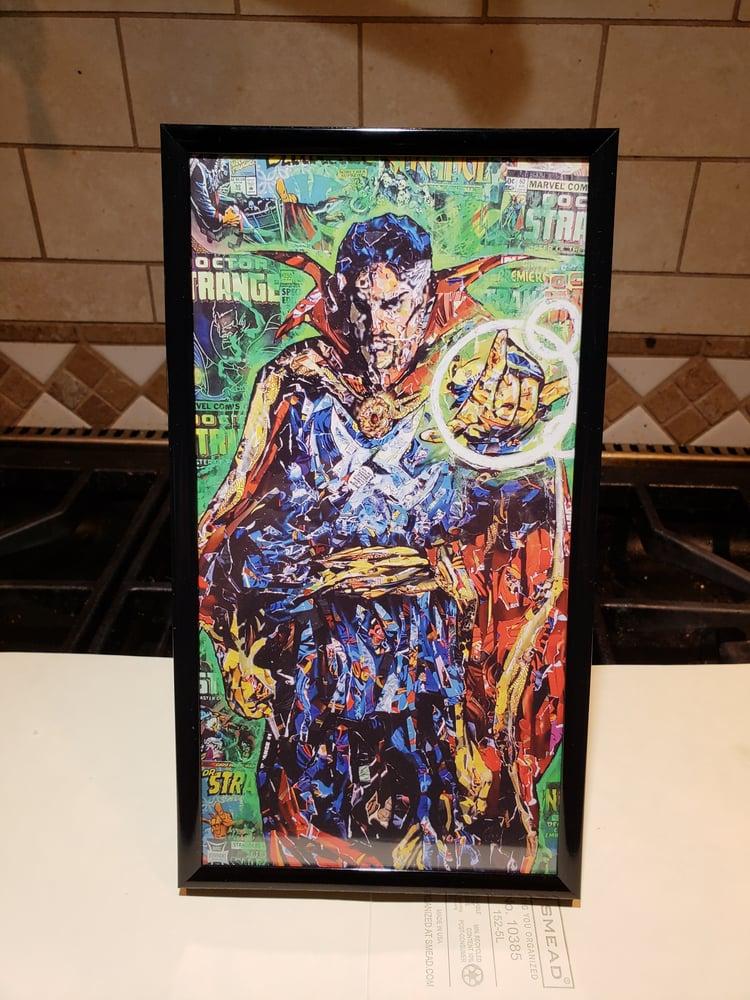 Image of Dr. Strange Postcard